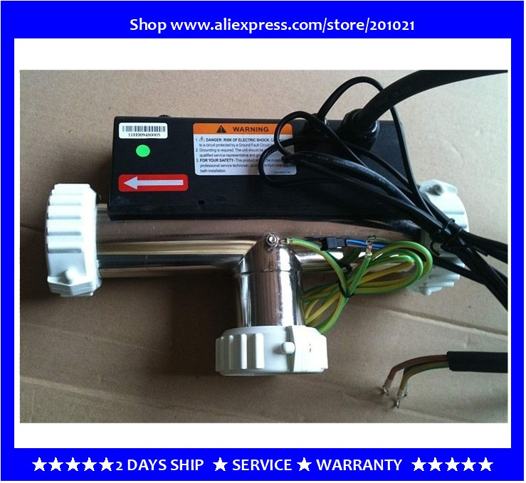 WHIRLPOOL LX H30-R3 T Type bath heater hot tub spa 3KW spas Chinese Heater 3KW, T-shaped Indoor Outdoor 3Kw inline Bath Heater heating element for lx h r sereis h30 r1 h30 r2 h30 r3