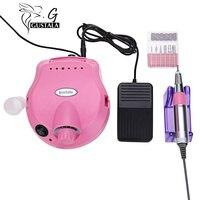 Gustala 30000RPM Professional Nail Electric Grinding Drill File Bit Machine Manicure Polishing Nail Pedicure Tool Manicurist