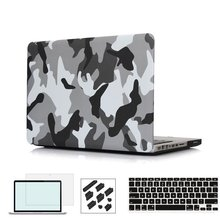 RYGOU Camouflage Pattern Ultra Slim Light Weight Hard Case Cover for Apple MacBook Air 13 11 Pro Retina 12 13 15 inch case