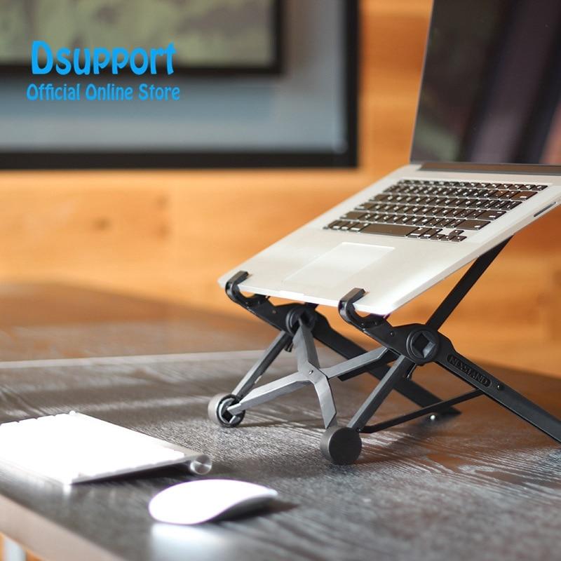 NEXSTAND K2 Laptop Stand Folding Portable Adjustable Laptop Lapdesk Office Lapdesk Ergonomic Notebook Stand