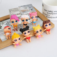 Hot Lol Doll Dress Change Unpacking Doll 1Pcs Random Ship Cute Action Figure Toy For Kids Girls Funny Gifts(China)