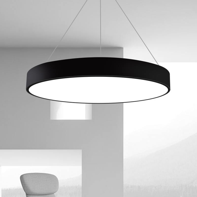 Office chandelier round modern minimalist personality gym cyber cafe creative shaped engineering lampsOffice chandelier round modern minimalist personality gym cyber cafe creative shaped engineering lamps