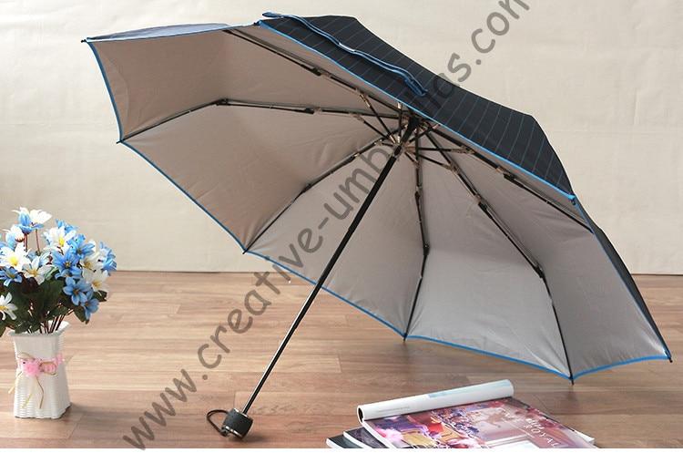 (2pcs/lot)103cm Ox carbon brass anti-thunder fiberglass strong windproof velvet silk parasol Anti-UV business mini golf umbrella