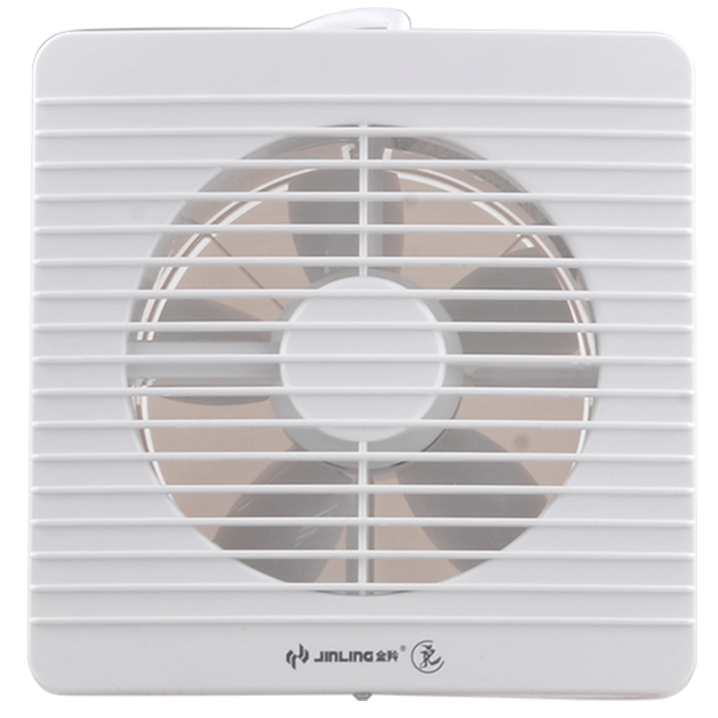Jinling 2018 Exhaust Fan Kitchen Fume Ventilator Bathroom 6 Inches Wall Glass Window 2H the window office paper sticker pervious to light do not transparent bathroom window shading white frosted glass tint