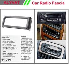 Одежда высшего качества автомобиль DVD CD Радио фасции Панель для Chrysler 300 м/Dodge/Jeep/Плимут Стерео Переходная тире CD Установка комплект