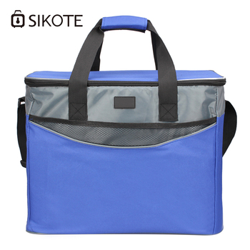 SIKOTE 34L Insulation Lunch Box Keep Fresh Women Men Thermal Food Ice Pack Picnic Office Lunch Bag Diagonal Cooler Tote Bags