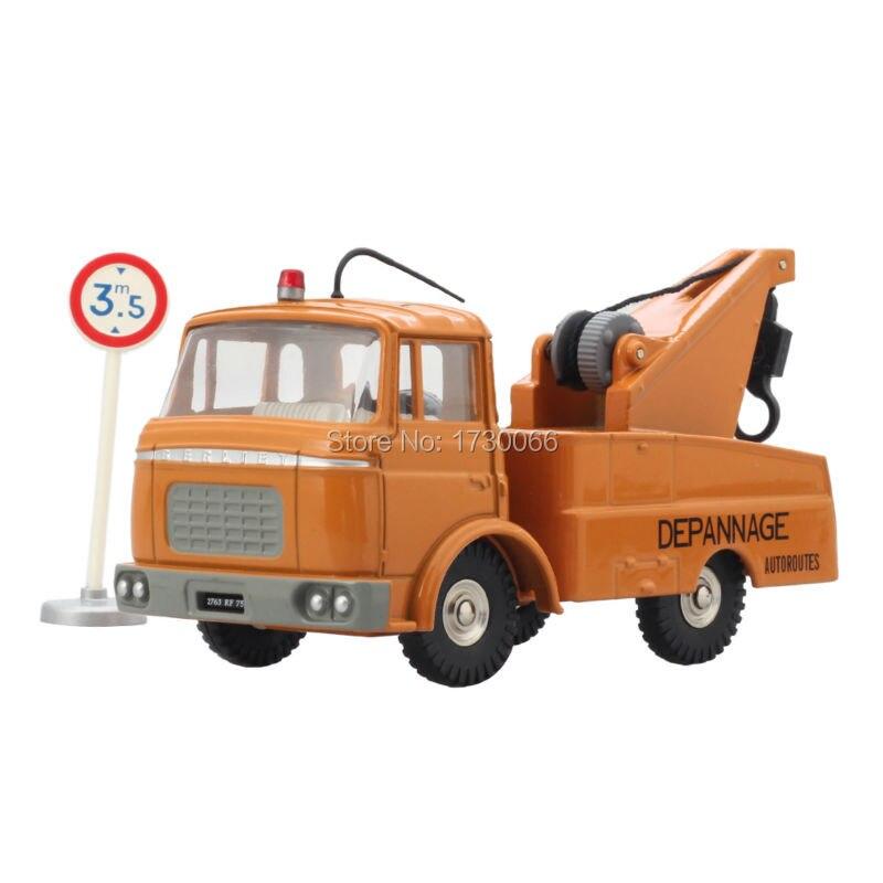 "Dinky Toys Altas Alloy Dykdatorbil Truck 1/43 589A DEPANNEUSE BERLIET G.A.K. ""AUTOROUTES"" truckleksaker för barn"