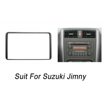 Radio Fascia for Suzuki Jimny 2 Din DVD Stereo Panel Dash Mounting Installation Trim Kit Frame Bezel