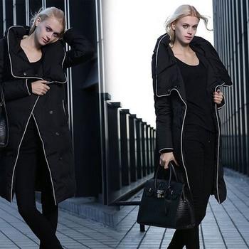 Winter Jacket Women 2019 New Brand Ladies Long Winter Warm Coat Women White Duck Down Jacket Long Women Jackets