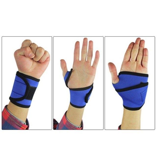 bracers Bandage Basketball Tennis bracelet Sport grip Badminton racket ball bag Carpal Protector Wrist wristband Gym Universal