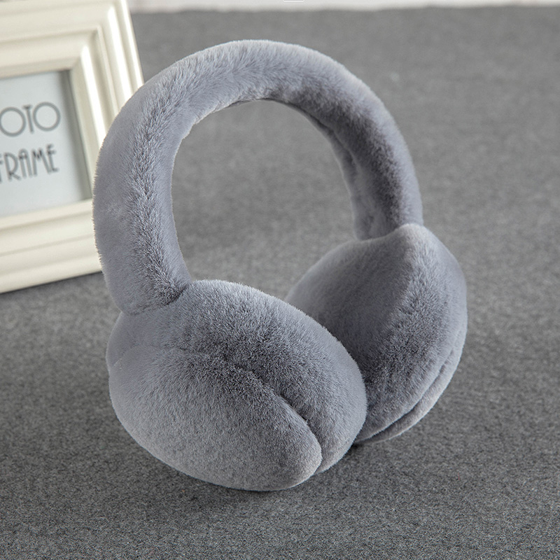 New Winter Warm Earmuffs Foldable Couple Earmuffs Korean Students Ear Warm Men's Ladies Deaf