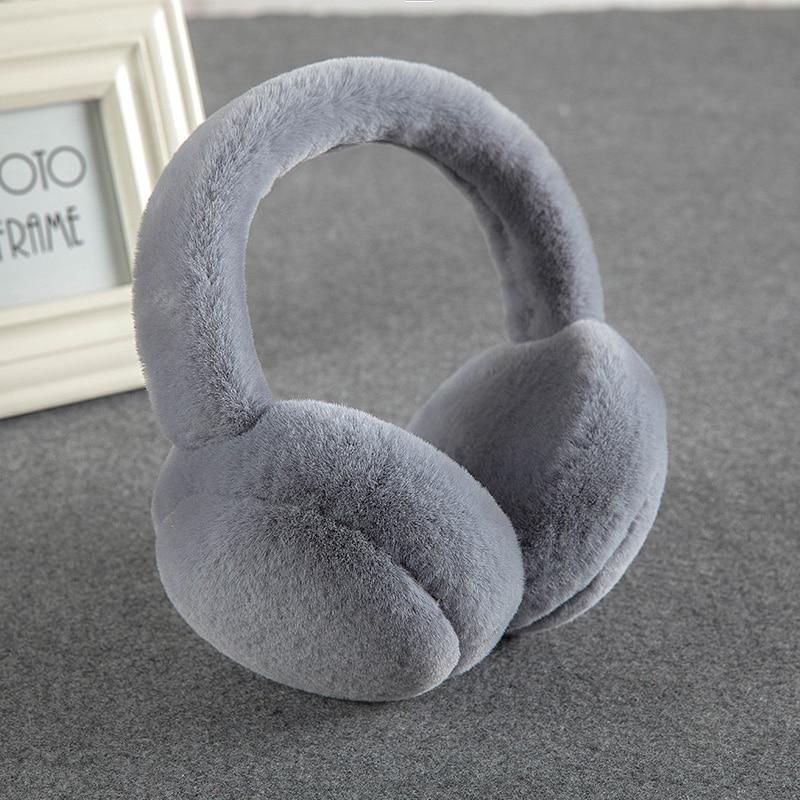 New Winter Warm Earmuffs Foldable Couple Earmuffs Korean Students Ear Warm Men's Ladies Deaf