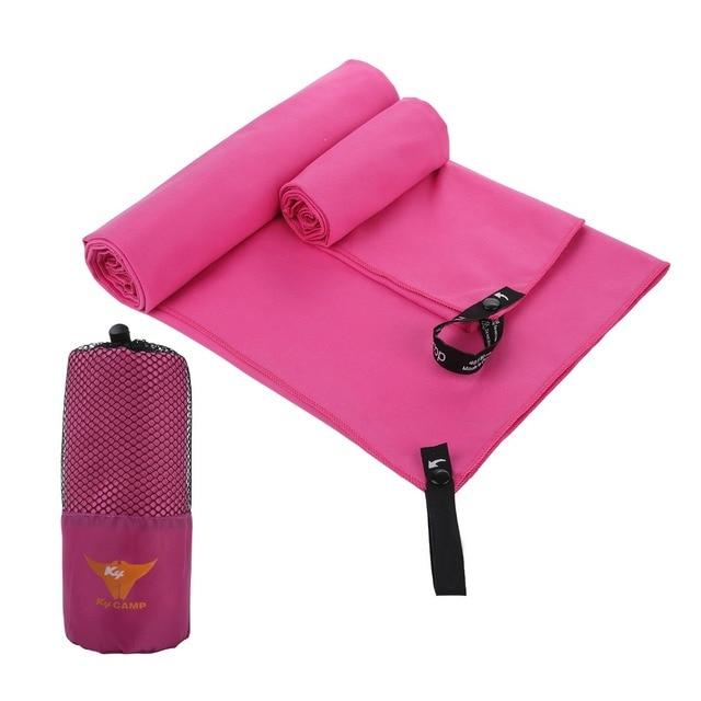 2pc/set Outdoor Sports Quick-Dry Bath Set Towel Microfiber Non Slip Towel for Bath Gym Camping Yoga Mat Beach Towel Blanket 1