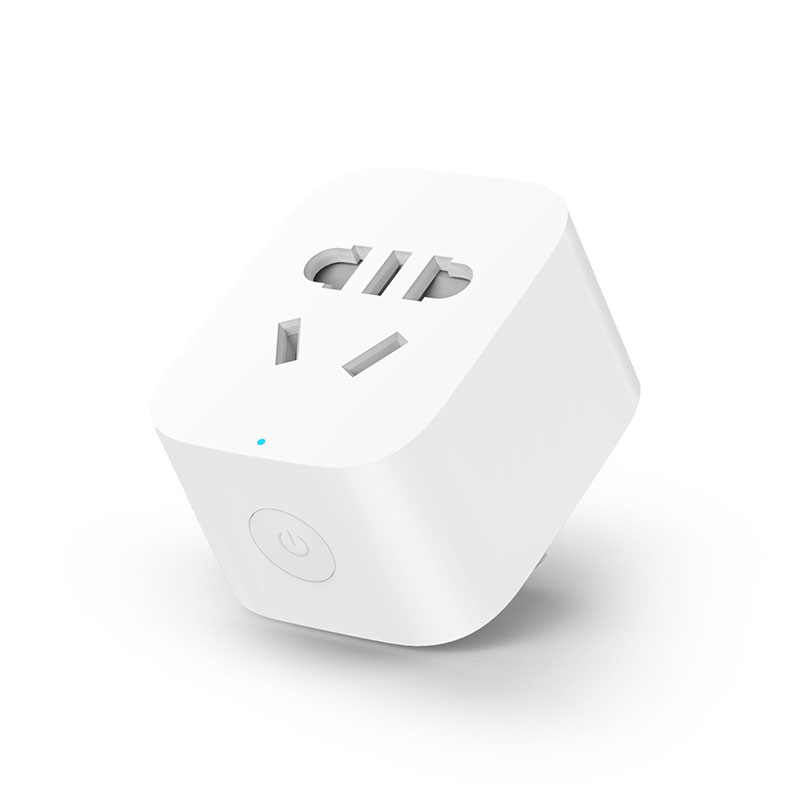 In Stock Newest Xiaomi Smart Socket Plug Basic Socket Plug Power WiFi  Version Socket EU Control With Phone APP Itelligent Plug
