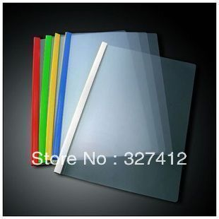 Thickening Folder Transparent A4 Pumping Rod Folder Rod