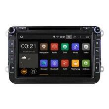 8 cal Quad Core Czysty Android 5.1 2 Din Samochód DVD Dla VW JETTA Passat Tiguan Amarok Golf Caddy EOS B6Touran DAB Bluetooth GPS