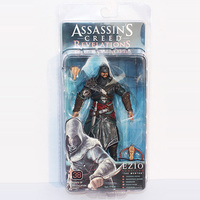 NECA Assassin Creed אני אציו PVC פעולה דמויות בובות צעצוע לילדים 7 inch 18 ס