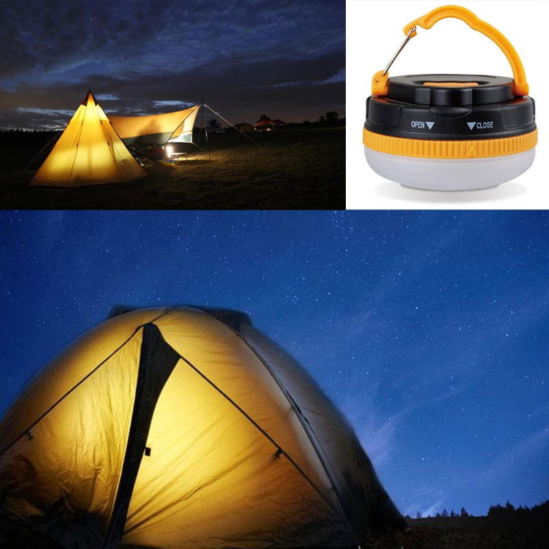Camping LED Lantern USB Rechargeable Outdoor Light Lantern Tent Lamp with Magnet