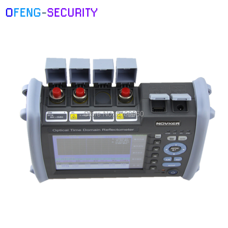 NK6000 OTDR 1310/1550nm With 35/33dB Optical Fiber Length Fault Detection Cable Break Point Tester