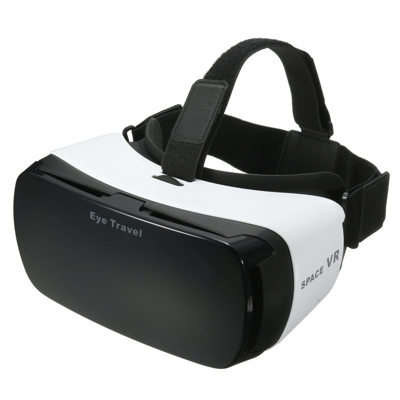 <font><b>Portable</b></font> Virtual Reality VR SPACE 3D <font><b>Glasses</b></font> Helmet <font><b>Video</b></font> <font><b>Movie</b></font> Headset With Bluetooth Control For 4~ 6 inch Smartphone