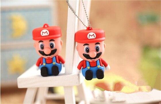 cartoon Super Mario USB 2.0 usb flash drive/U Disk/ Pendrive/Memory Stick/Disk/Thumb pen drive/2GB 4GB 8GB 16GB S5#21