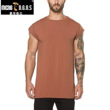 New sellin Summer New and Fitness Mens Short Sleeve Cotton T-shirt Gyms Shirt Men Muscle Tights T Shirt 3 Colors(China)