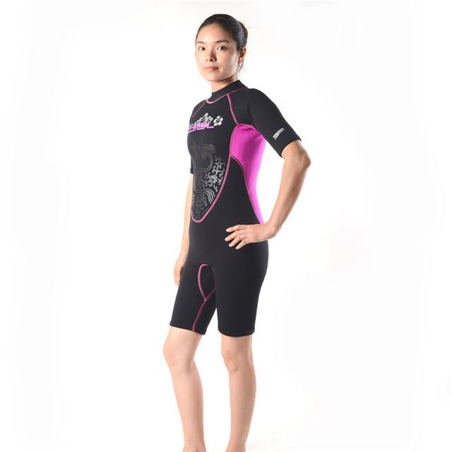 Free Shipping Brand Black 3mm Full Body Neoprene Scuba Dive Wetsuit Women Diving Suit Spearfishing Surf Swim Equipment Swimwear