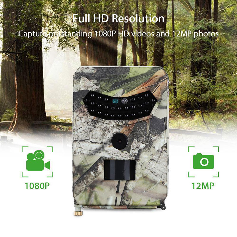 Mini Hunting Tail Camera PR 100 Digital Cam IP56 Waterproof 26pcs Infrared LEDs Night Vision Camcorder