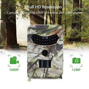 Image 1 - Mini câmera de caça para área externa, câmera digital PR 100 à prova d água ip56, com 26 peças, leds, infravermelhos, visão noturna, gravador de vídeo para áreas externas