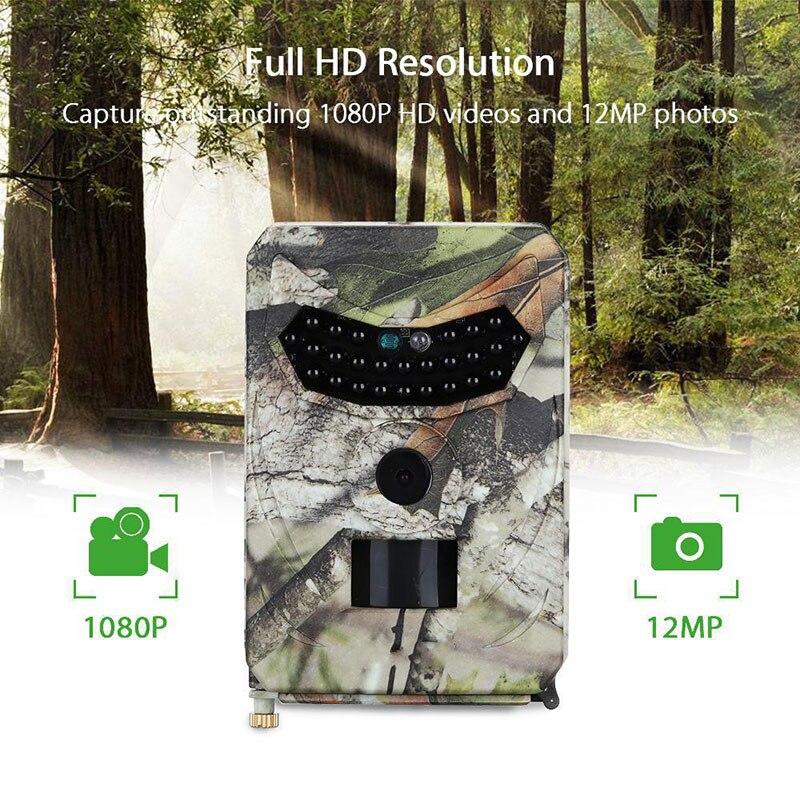 Mini caméra de chasse arrière PR-100 caméra numérique IP56 étanche 26 pièces led infrarouge Vision nocturne caméscope enregistreur vidéo extérieur