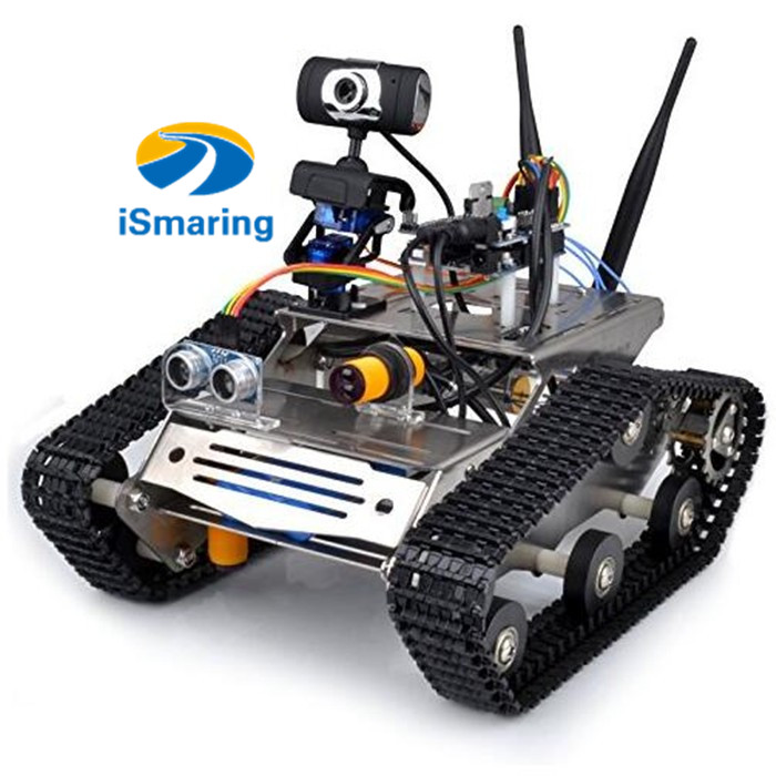 Official ismaring wifi robot car kit for arduino hd