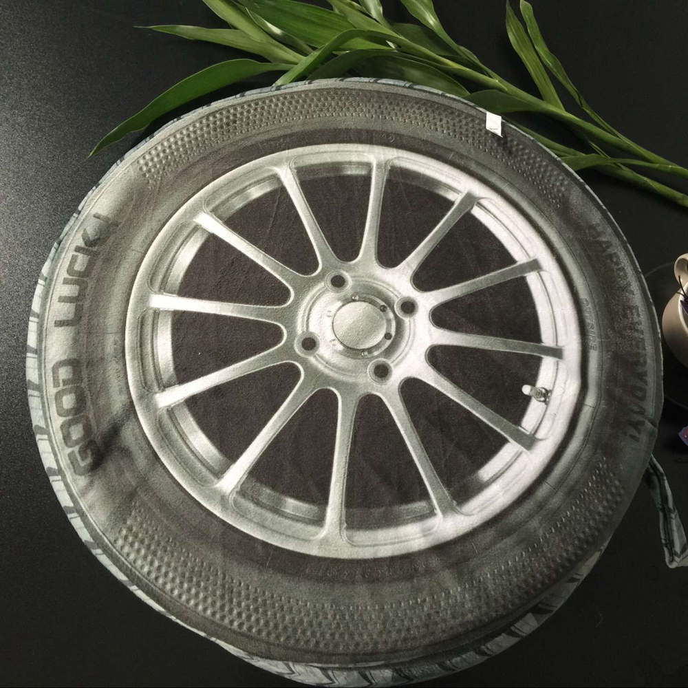 3dピロータイヤホイールcojinesクリエイティブぬいぐるみ枕クッションホイールクリエイティブタイヤ枕タイヤ枕Almofada Criativa