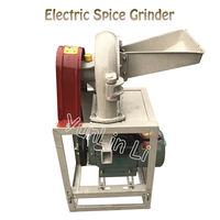 Electric Spice Grinder Commercial Grain Grinding Machine 2200W Grain Crusher Flour Milling Machine 9FZ 19