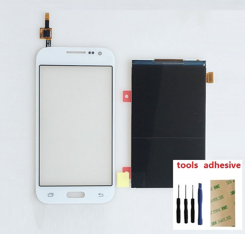 LCD Display Screen + Touch Screen Digitizer Sensor For Samsung Galaxy Core Prime SM-G360F G360F + Adhesive + Kits