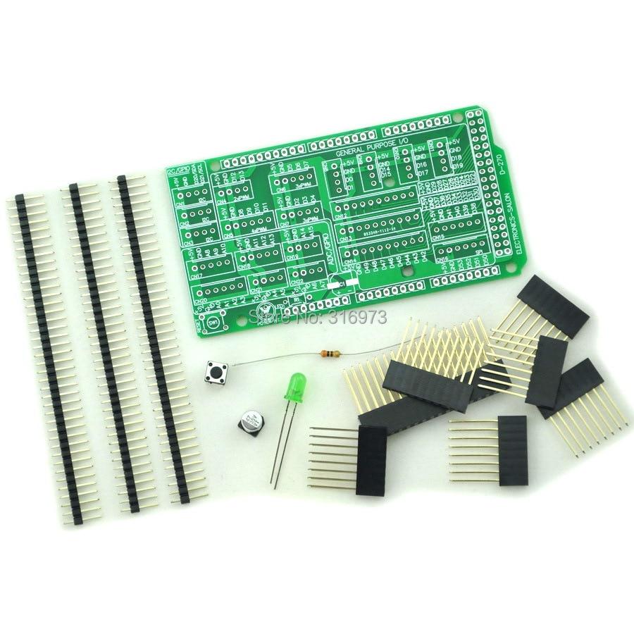 I/O Extension Board Kit For MEGA 2560 R3 Board DIY.
