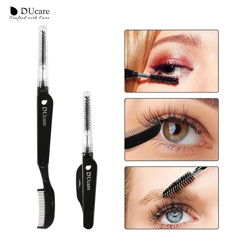 DUcare Eyelashes Brush Duel End Eyelashes Comb Makeup Tool Kit
