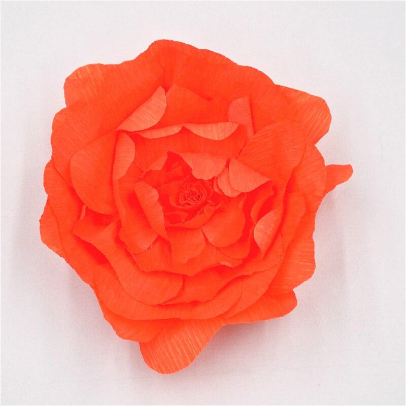 Aliexpress.com : Buy 2018 Giant Crepe Paper Flowers Backdrop ...
