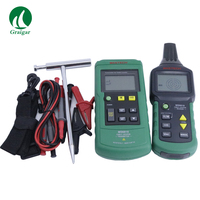 MS6818 Cable Detector Wire Cable Metal Pipe Locator Detector Tracker Finder Metal Pipe Locator Meter