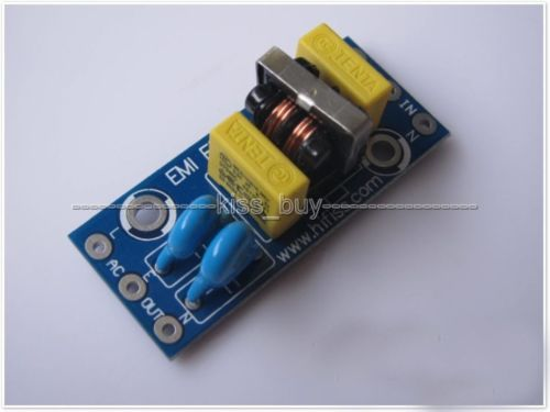 4A EMI Power Filter Board DIY Kits For DAC Headphone Amplifier Preamp Filtering