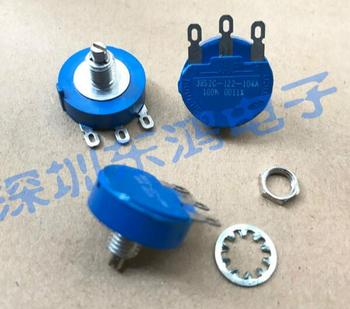 [VK] ORIGINAL Mexico 3852C-122-104A single link 100K seal ceramic potentiometer 270 degrees