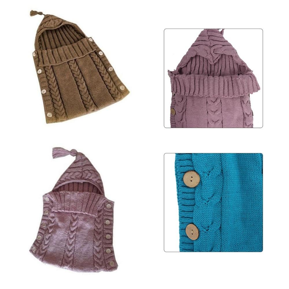 Aliexpress.com: Comprar Baby Swaddle Wrap lana caliente ganchillo ...