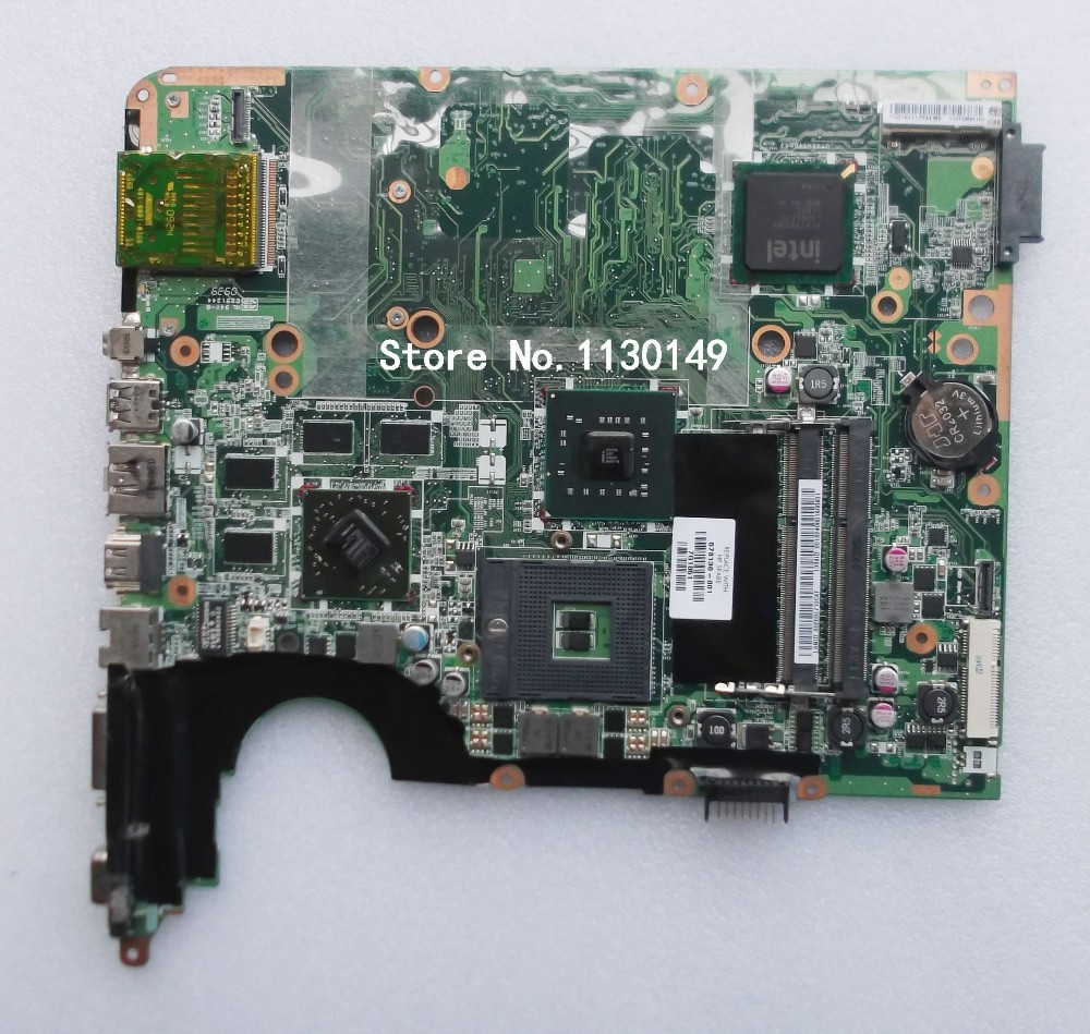 все цены на  Laptop motherboard For hp pavilion DV7 578130-001 Mainboard Intel with ATI Graphics Card DDR3 High quality Mother Boards  онлайн