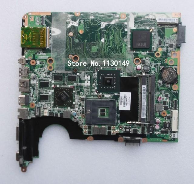 Placa madre del ordenador portátil para hp pavilion dv7 578130-001 placa base intel con ati ddr3 tarjeta gráfica de alta calidad tarjetas madre