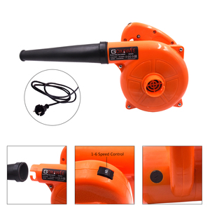 Image 3 - GOXAWEE 220V 6 Speed Electric Air Blower Vacuum Blowing Dust Collector Hand leaf Blower 2 in 1 Fan Computer Cleaner 1.4m Cable