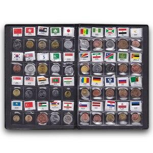 Image 3 - העולם מטבעות הרבה 60 מדינה אחרת לאומי דגל אלבום אוסף 100% מקורי אמיתי מטבע Starter Kit