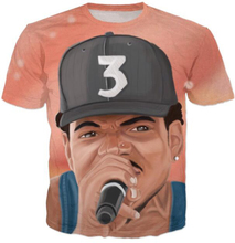 Chance The Acid Rapper T-Shirt Women/Men Pink Sky Space Candy Design T Shirt Casual Outfits Galaxy Rap Boy Tees 5XL