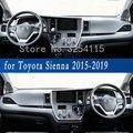 Personalizzato Tenda Da Sole Dashmats Auto-Accessori per lo styling Cruscotto Stuoie di Copertura Tappeto per Toyota Sienna 2015 2016 2017 2018 2019