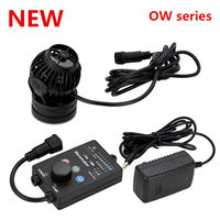JEBAO OW 10 OW 25 OW 40 OW 50 Wireless Wave Maker Flow Pump with Controller for Coral Reef Marine Aquarium Fish Tank
