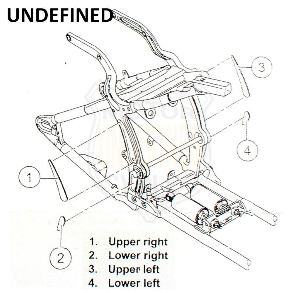 softail swing arm diagram