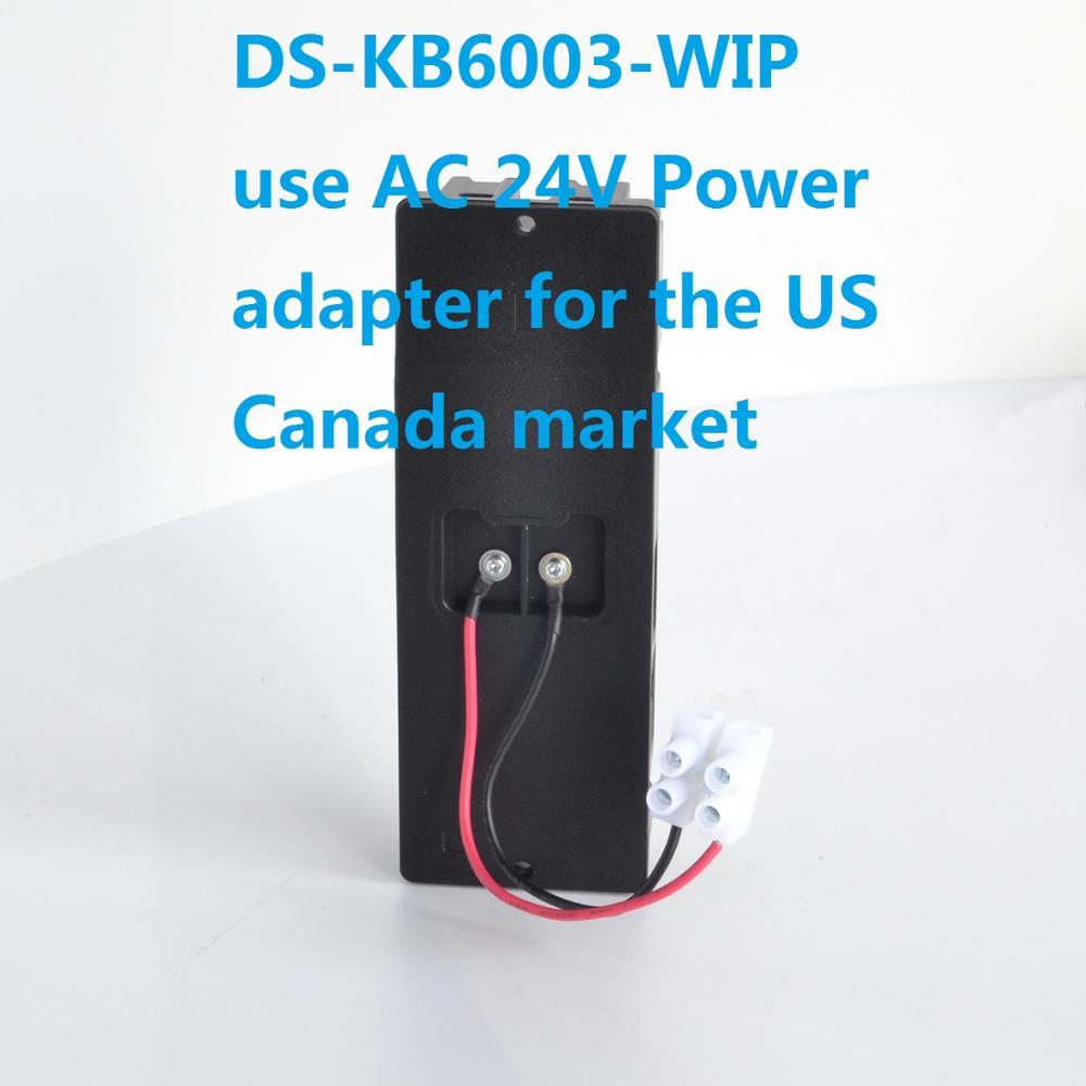 HIK Original DS-KB6403-WIP DS-KB6003-WIP Wi-Fi Video Doorbell Door phone Video intercom IP door phone IP doorbell